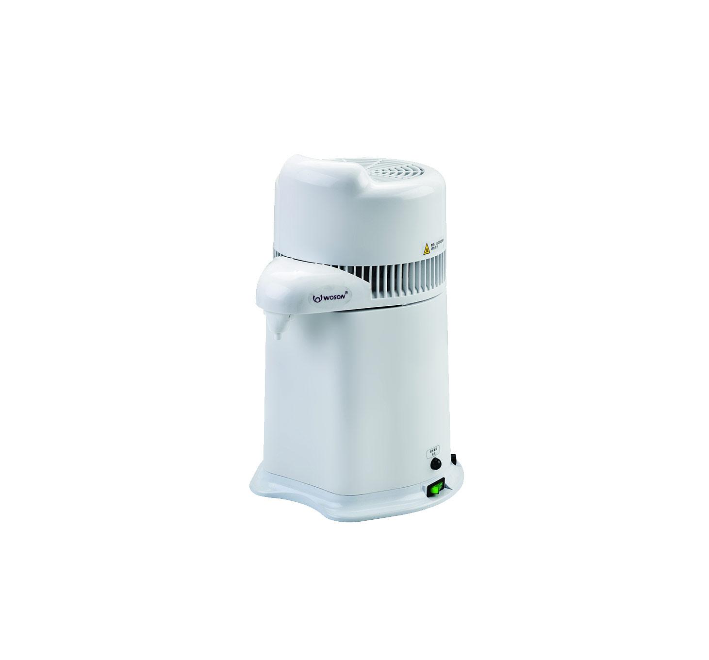 Waterdestilleerder: destilleert 4 liter in 4 uur | autoclaaf-shop